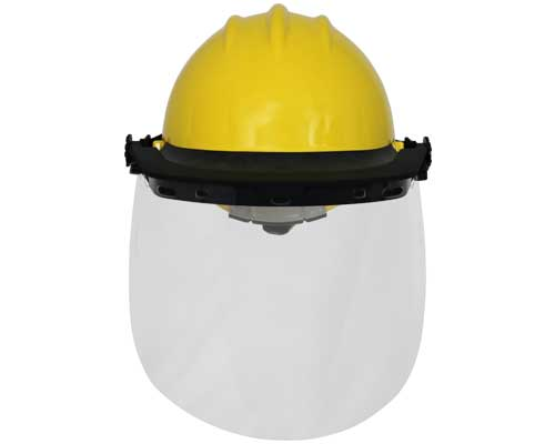 Hard Hat Mounted Face Protection