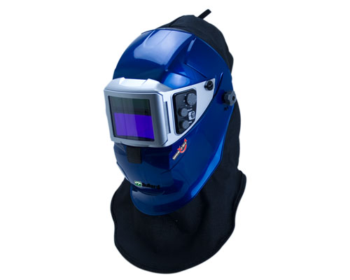 SparxLift Welding Helmet for a Supplied Air Respirator System (SAR)
